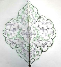 Islamic Art Pattern, Pattern Art, Islamic Calligraphy, Calligraphy Art, Motif Design, Floral Design, Illumination Art, Arabesque Pattern, Turkish Art