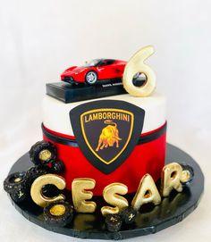 Birthday Cake Roses, Candy Birthday Cakes, Birthday Cake For Him, 2nd Birthday Party Themes, Race Car Birthday, Cars Birthday Parties, Birthday Cake Smash, 8th Birthday, Birthday Ideas