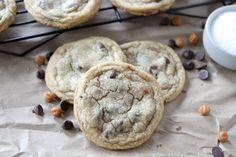 Salted Caramel Chocolate Chip Cookies | Two Peas and Their Pod | www.twopeasandtheirpod.com