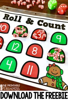 Your students are going to love the gingerbread activities for Kindergarten included at this blog post! Great ideas you can use all December long are included! Click through to see great FREE downloads, read alouds, letter building activities, word family work, math games and more!