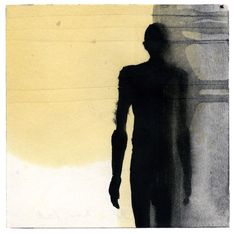 Website of British sculptor Antony Gormley, creator of the Angel of the North, Field for the British Isles, and Quantum Cloud. Figure Painting, Figure Drawing, Art Postal, Tinta China, Artist Sketchbook, Installation Art, Art Installations, Antony Gormley, Silhouette