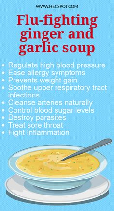 This Ancient Ginger and Garlic Soup Recipe Fights the Flu, Common Cold, Excess Mucus & Sinus Infections food recipes Flu Soup Recipe, Soup Recipes, Recipies, Cooking Recipes, Daily Health Tips, Health And Fitness Tips, Health Advice, Health Care, Health Diet