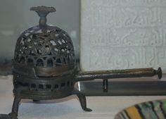 Fatimid 10th-11th century incense burner. Egypt Islamic World, Islamic Art, Dolphin Teeth, Mexican Skulls, 11th Century, Incense Burner, Egypt, Medieval, Museum