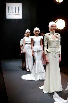 Elle Mexico Disena 2013 Finals - Haute Couture en blanc