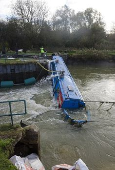 narrowboat accident - Google Search