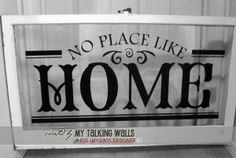 No place like home sign