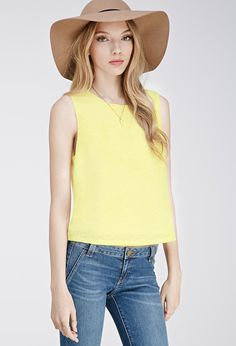 Scalloped Lace Top | Forever 21 Canada