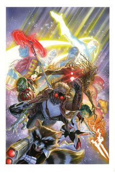 Guardians of the Galaxy by Alex Ross *