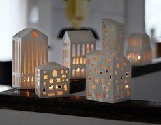 Urbania Teelichthäuser