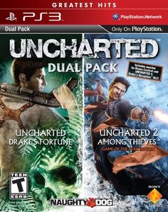 Uncharted: Greatest Hits Dual Pack - Ps3 [Digital Code], 2015 Amazon Top Rated Digital Games #DigitalVideoGames