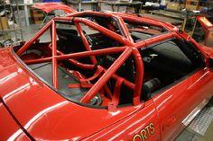 Patrick Motorsports' 1998 PORSCHE 986 BOXSTER BSR (Boxster Spec Racing Series) SPBOX Racer - Rollcage