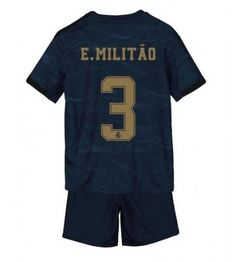 Real Madrid Eder Militao #3 Segunda Equipación Niños 2019/20 Manga Corta (+ Pantalones cortos) Equipacion Real Madrid, Sports, Tops, Fashion, Soccer Shirts, Short Shorts, Hs Sports, Moda, Fashion Styles