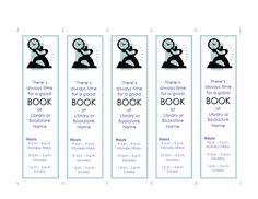 free printable bookmark templates