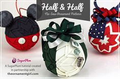 Quilted ornaments & Christmas crafts to make by The Ornament Girl