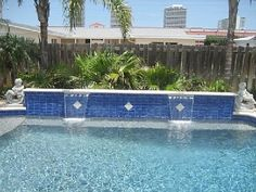 Pool Renovation Ideas 10 pool renovation ideas Adding A Waterfall To Our Pool Love This
