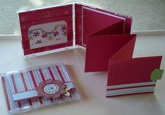 CD Album - Oct Scrapbook Club Project - DOstamping with Dawn, Stampin' Up! Demonstrator
