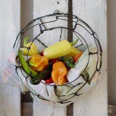 wall hanging fruit basket