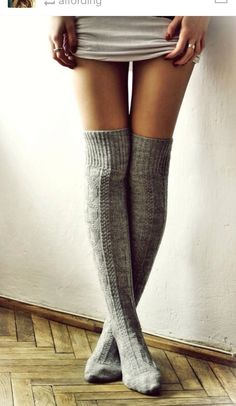 Those look so warm and cozy. Need long socks