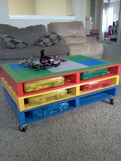 Here in this article, we are bringing you colorful DIY pallet coffee tables designs that seem beautiful and are full of color. Don't waste the raw material of pallets wood present at your home and utilize it for crafting mind-blowing pallets innovations for your place.