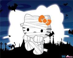 Hello Kitty #Halloween wallpaper