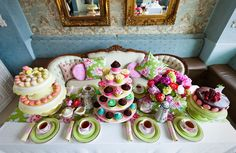 engagement tea party--so delicious and marie antionette-ish.