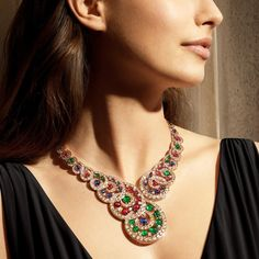 Bulgari Jewelry, Jewellery, Bracelet Set, Necklace Set, Japanese Pearls, Matching Rings, Pink Quartz, High Jewelry, Baroque