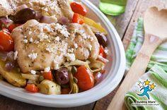 Mediterranean Chicken Bake | Guiding Stars
