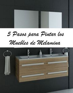 5 pasos para pintar muebles de melamina Home Decor Furniture, Furniture Making, Painted Furniture, Diy Home Decor, Ikea, Home Board, Woodworking Basics, Chalk Paint, Sweet Home
