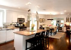 White Cabinets And Dark Flooring Design, Pictures, Remodel, Decor and Ideas - page 7