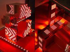 Nike CLC Digital Installation by Super Nature Design 02 Branding, Clc, Retail Space, Light Installation, Design Furniture, Visual Communication, Interactive Design, My Favorite Color, Digital
