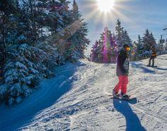 Ski au Mont Sutton