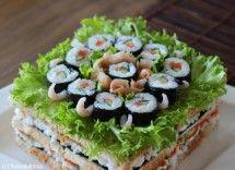 Sushi-voileipäkakku