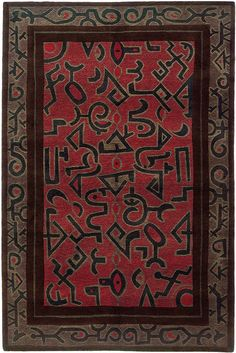 Kiva by A Rug For All Reasons | With a design by Kim Whitesides linked to the Native American design tradition, this rug would be perfect in many settings - from contemporary to lodge-style.