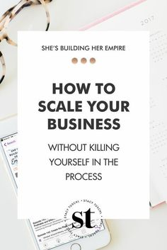 """How to scale your business without killing yourself in the process - """"So number one go-to resource is literally tocut your to-do list in half..."""" From minute 12.38, Maggie shares some of her favorite systems, strategies, and resources to move your business to a higher level.   Smart way to do business    === Turn your Leads into Sales www.bit.ly/aceframework === She's Building Her Empire"""