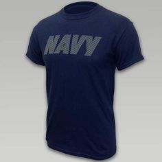 Navy Reflective PT T-Shirt