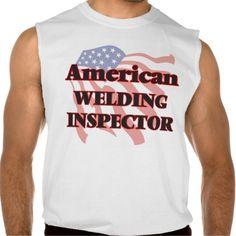 American Welding Inspector Sleeveless T-shirt Tank Tops