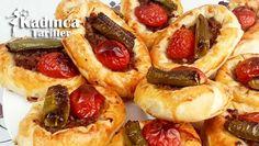 Sandal Börek Tarifi Hot Dogs, Waffles, French Toast, Pizza, Breakfast, Ethnic Recipes, Food, Morning Coffee, Essen