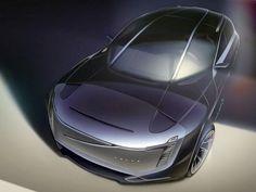 Lukas Haag car design sketch. Volvo