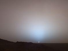 Sunset on Mars | Image Credit: NASA/JPL/Texas A&M/Cornell