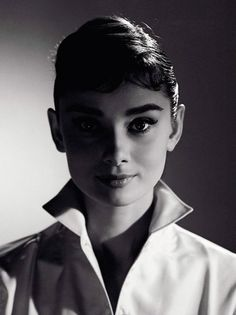 Audrey Hepburn - Photograph by Jack Cardiff, 1956.