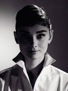 Audrey Hepburn - Photograph by Jack Cardiff, 1956.