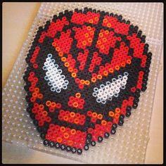 Spiderman hama perler beads by gooood73