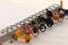 Bike parking rack