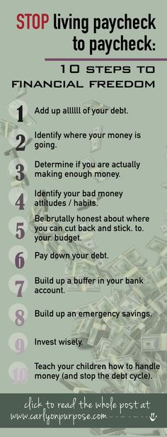 Tired of living paycheck to paycheck? Discover financial freedom through budgeting tips and life hacks!