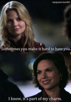 Awesome Regina and Emma in an awesome first or second season episode of Once