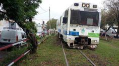 CRÓNICA FERROVIARIA: Chaco: Descarriló coche motor del Tren Metropolita...