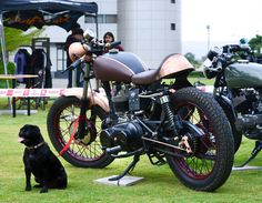 Steampunk inspired Royal Enfield Cafe racer custom design and modification. By Gage Design.