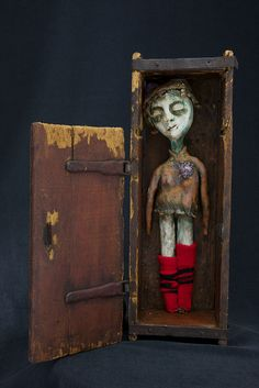 """Ghost Girl"" #assemblage by artgirly (photostream)"