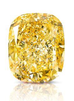 The Graff 132-Carat 'Golden Empress' Fancy Yellow Diamond