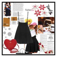 """Bez naslova #65"" by amina-d-394 ❤ liked on Polyvore featuring beauty, Kate Spade, Dolce&Gabbana, Balmain, Komar and yoins"